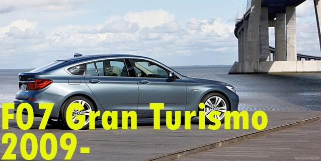 Фаркопы для BMW F07 Gran Turismo 2009-