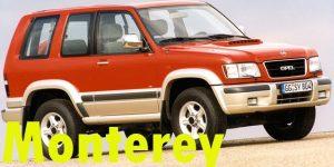 Защита картера двигателя для Opel Monterey