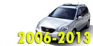Защита картера двигателя для Kia Carens 2006-2013