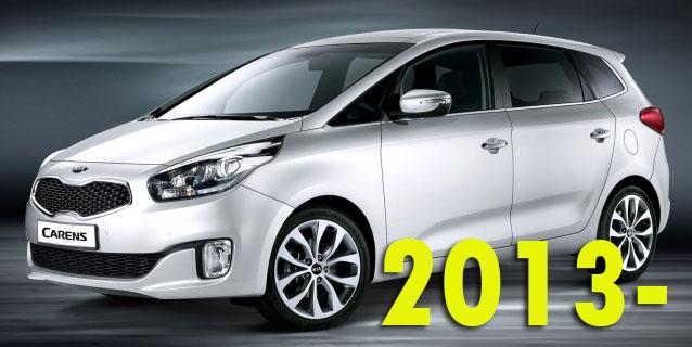 Защита картера двигателя для Kia Carens 2013-