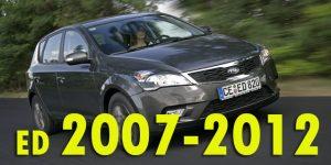 Защита картера двигателя для Ceed ED 2007-2012