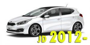 Защита картера двигателя для Ceed JD 2012-
