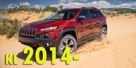 Защита картера двигателя для Jeep Cherokee KL 2014-