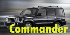 Защита картера двигателя для Jeep Commander