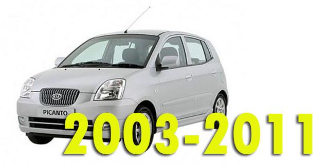 Защита картера двигателя для Kia Picanto 2003-2011