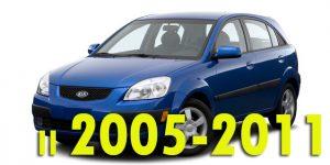Защита картера двигателя для Rio II 2005-2011