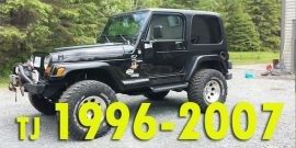 Защита картера двигателя для Jeep Wrangler TJ 1996-2007