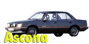 Защита картера двигателя для Opel Ascona